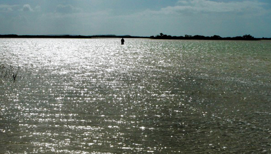 Flyfishing Bonefish in the Bahamas: Authentic Island Fishing at a Good Price.  Article by Kirk Deeter