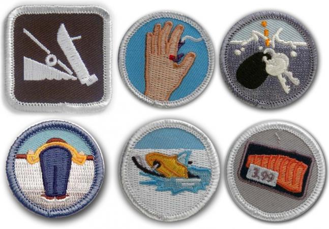 Fishing Demerit Badges: Never Let Your Buddy Forget His Screw-Ups.  Article by Joe Cermele