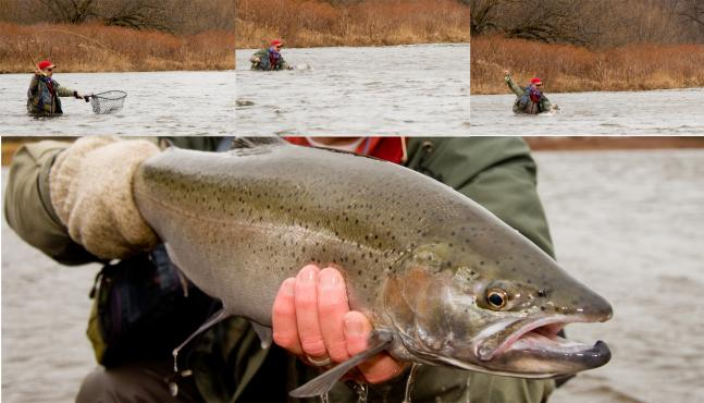 Flyfishing There's Nothing Like a Fish That Makes You Run.  Article by Joe Cermele