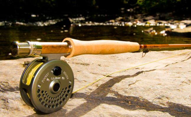 Flyfishing Review: L.L. Bean Pocket Water Fly Combo.  Article by Joe Cermele