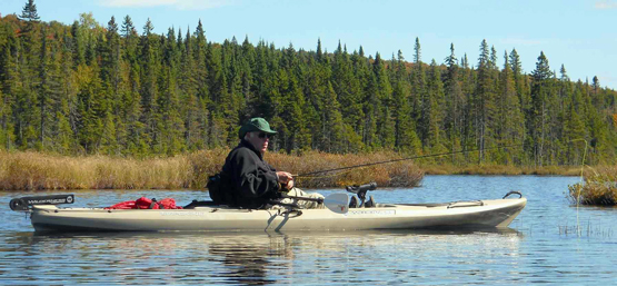 Fishing Kayak Fishing: The Answer to Getting Off the Beaten Track.  Article by John Merwin