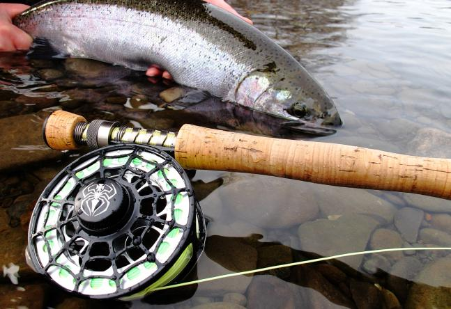 Flyfishing Review: Jesse James .44 Mag Fly Reel.  Article by Joe Cermele
