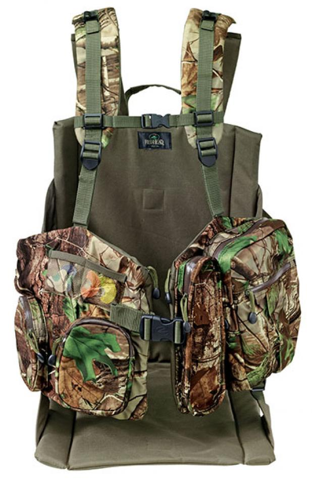 Hunting Turkey Hunting Gear: Redhead Bucklick Creek Turkey Lounger Vest.  Article by Phil Bourjaily