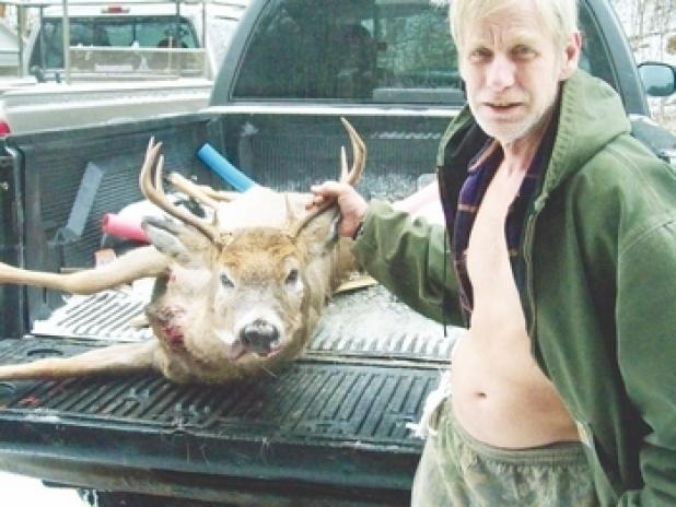 Hunting NH Man Gored by Downed Buck Says He's Done With Hunting.  Article by Chad Love