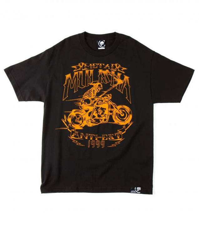 Motorsports BLACK DEATH TEE $22.00 STYLE # M335S18305 Metal Mulisha Mens tee. 100% Cotton. Screenprint. http://www.metalmulisha.com/shop/clothing/mens/tees/black-death-tee/ View The Full Collection: http://goo.gl/CkCu5
