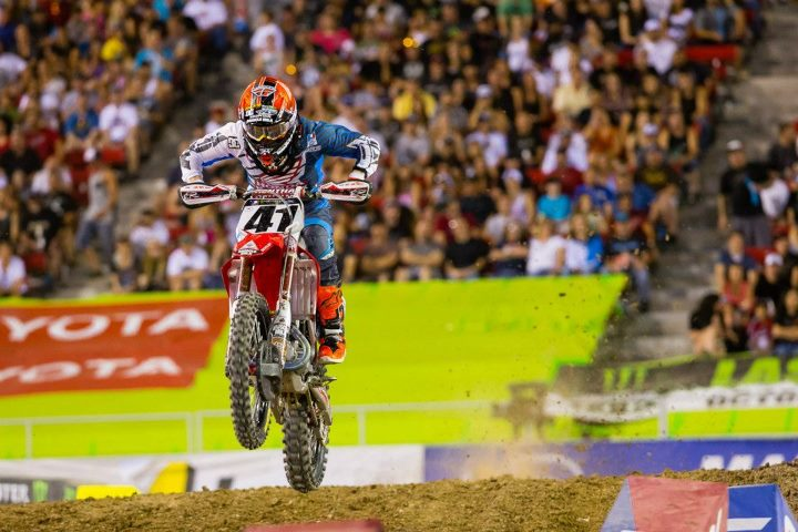 Motorsports So great to have you back racing TC! Trey Canard finished out the 2013 series 6th overall in the 450 class.