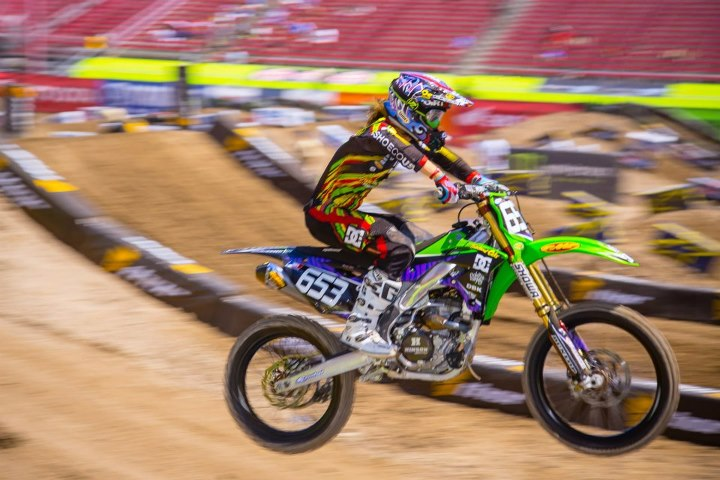 Motorsports It was a great learning year for Tyler Bereman as he was a rookie in the 450 class this year.