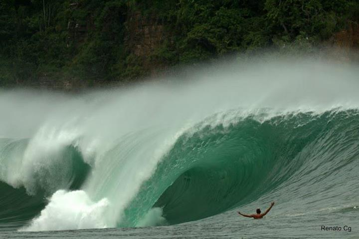 Surf A bomb going through Nicaragua