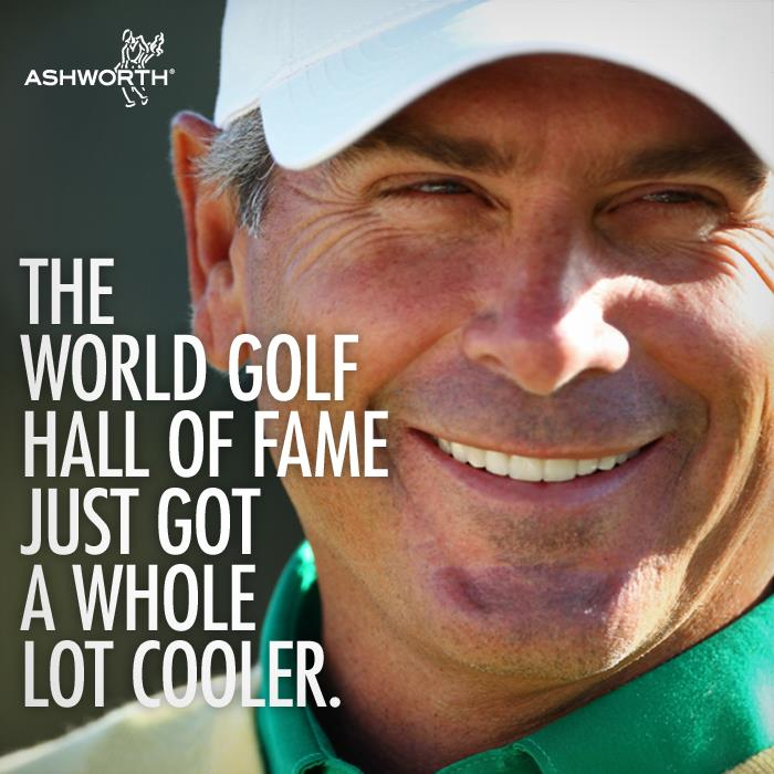 Golf The World Golf Hall of Fame just got a whole lot cooler. Join us in congratulating Fred on his induction today!