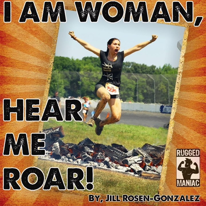 Fitness Congratulations, @Jill Rosen-Gonzalez: Your caption perfectly captures this Rugged Maniac's enthusiasm!