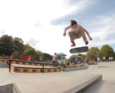 Skateboard 98 Days of Mayhem with Zumiez Best Foot Forward! Part 1: http://www.youtube.com/watch?v=b3QRawfKWmk
