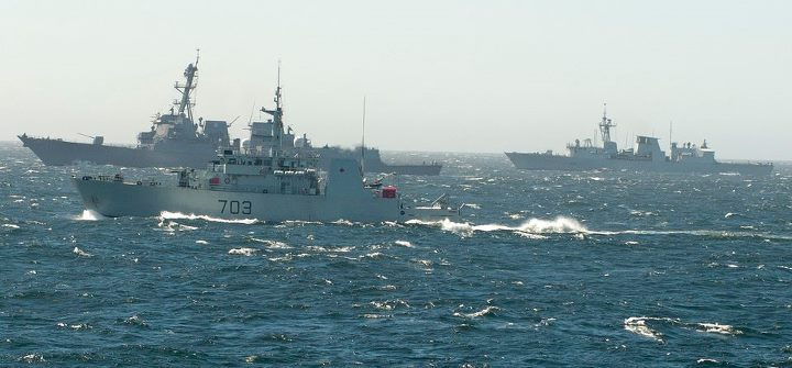 Guns and Military One of the Navy's core responsibilities is to foster and sustain relationships with our allies and international partners to enhance global security.  Find out how we're doing that through Exercise Trident Fury with the Royal Canadian Navy: http://ow.ly/k
