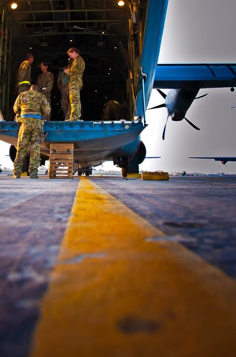 Guns and Military The 772nd Expeditionary Airlift Squadron successfully executed the first combat Extracted Container Delivery System, or XCDS, airdrop April 29. The new airdrop method pulls the bundles out of the aircraft at a faster rate than the current airdrop process,