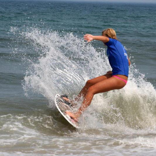 Surf Girls On Boards