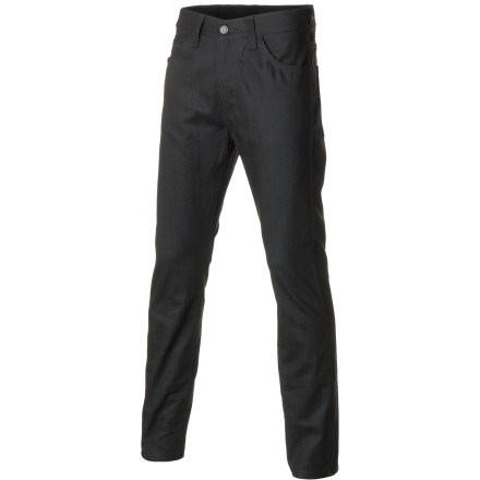 The Levi's Men's 508 Denim Pants are a classic pair of working man's jeans. Regular fit with a gradual taper through the leg, these are your go-to pants for everything from grease monkey sessions in the garage to late nights at your neighborhood dive bar. - $63.95