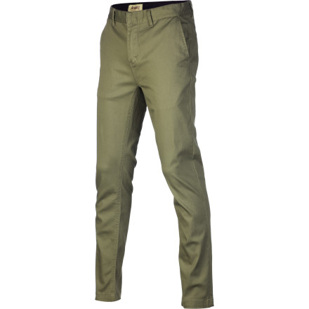 With a modern slim fit and a highwater cut that rests just above the ankle, the Altamont Davis Highwater Slim Chino Pant gives you a new way to show off your favorite shoes (or cankles). - $50.36