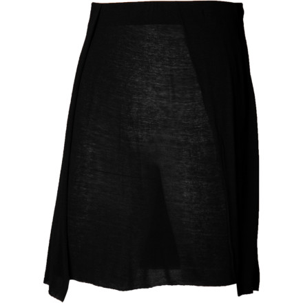 The Cheap Monday Anne Skirt works with everything from sneakers to heels thanks to its chic overlap design and lightweight, comfy rayon fabric. - $39.95