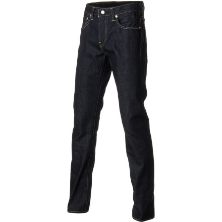 If you feel like a slim fit is too close of a cut yet a regular fit is a bit on the baggy side, check out the Levi's Men's 513 Denim Pants. The slim, straight fit bridges the gap between skinny and regular-cut jeans while a touch of stretchy elastane allows you to move. - $67.95