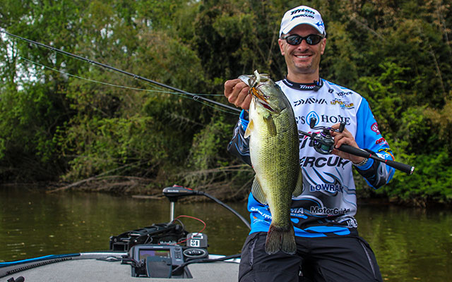 Fishing How to Swim a Jig for Bass around Other Cover.  Article posted by Jason Sealock on Wed, May 01, 2013