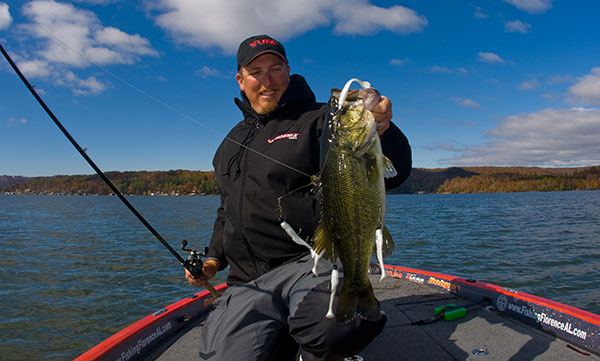 Fishing Choosing the Right Swimbait for Bass Umbrella Rigs.  Article posted by Walker Smith