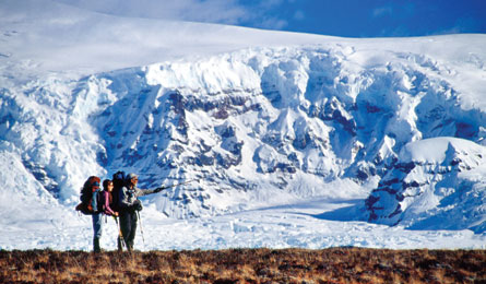 Camp and Hike BEST HIKES EVER: SOUTHERN TRAVERSE, AK.  Article by Kelly Bastone