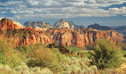Camp and Hike SECRET HIKES: ZION NATIONAL PARK - Pack an extra memory card for what is, mile-for-mile, the most photogenic hike in the Southwest.  Article by Michael Lanza