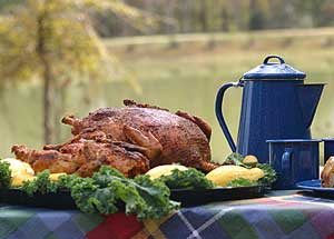 Hunting Eight easy recipes for mouthwatering wild turkey.  Article by Keith Sutton