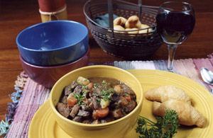 Hunting Five belly-warming stew recipes you can prepare using any wild game meat you have on hand.  Article by Keith Sutton