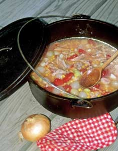 Camp and Hike Dutch Oven Cooking - Spice up your camp cuisine with these Dutch oven recipes and how-to tips.  Article by Keith Sutton