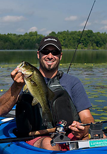 Fishing Kayak Bass Fishing Tactics.  