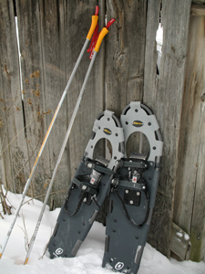 Camp and Hike Making Tracks: A Snowshoer's Primer.  