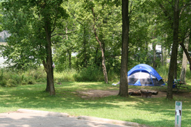 Camp and Hike Travel-by-Tent Camping - Car camping allows travelers to experience a trip at their own pace, on their own terms.  Article by Robert Loewendick