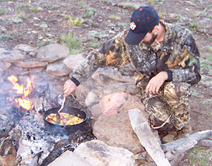 Camp and Hike Fun-to-Cook Foods for Camp Chefs.  