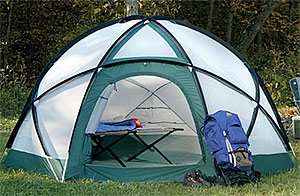 Camp and Hike Maximizing Space in Camping Tents.  