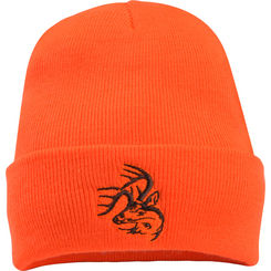 Hunting Blaze Orange Signature Buck Beanie  $9.99