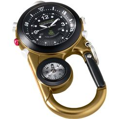 Hunting Whitetail Extreme Clip Watch - combo timepiece, compass, thermometer and emergency light     $69.99