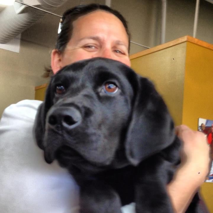 Entertainment We just had a great office visit from Ferdinand the Guide Dogs for the Blind puppy in training!
