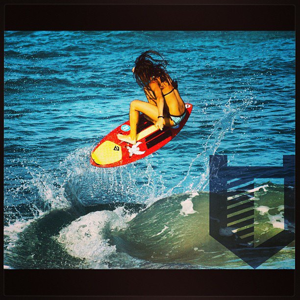 Surf Hitcase welcomes Amber Torrealba to the team. #hitcase #skimboard #surf @ambertorrealba