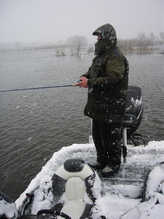 Fishing This is what happens to bass tournaments in Minnesota when Mother Nature forgets that it's May 2.