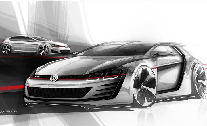 "Auto and Cycle The ""work hard, play hard"" mantra appears to be alive and well in Wolfsburg if this 503-hp GTI concept is anything to go by. http://cardrive.co/6035XW7b"