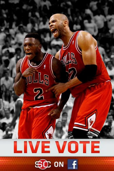 Sports The votes are in! 60 PERCENT of you say THE BULLS will win the series against the Heat after winning Game 1.  LIKE if you agree, COMMENT if you don't.