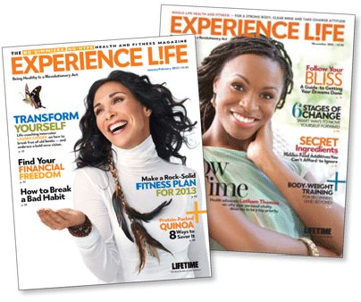 Fitness Mother's Day is this weekend. If you're a member, skip the flowers and give mom a subscription to Experience Life Magazine. She'll get 10 issues packed with fitness and health goodness for just $15, 74% off newsstand price! http://bit.ly/108S8gr