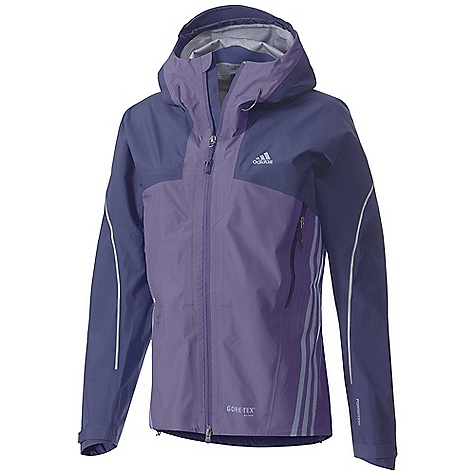 Fitness Free Shipping. Adidas Women's Terrex GTX Active Shell Jacket DECENT FEATURES of the Adidas Women's Terrex GTX Active Shell Jacket Gore-Tex Active shell the lightest, most packable fabric, totally windproof, maximum breathability and fully waterproof Adjustable hood Reflective Elements for enhanced visibility and safety in the outdoors Formotion Ultimate performance and comfort while in motion The SPECS Weight:11 oz / 312gm - $324.95