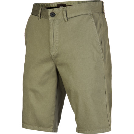 The Ambig Clayton Short's stretch cotton twill fabric keeps you feeling good and moving easy, while the slim fit and 20-inch inseam give you a modern look that goes with just about anything. - $47.95