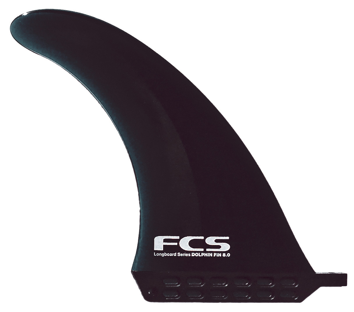 Surf Highly flexible longbord fin designed to increase safety while maintaining performance. Key Features of the FCS Dolphin Soft SUP Fin 9In: Single symmetrical for US Fin Box's Comes with surf key, screw and slider (x1) Injection moulded construction Soft fin which help avoid the risk of injury to you and the board. - $35.95