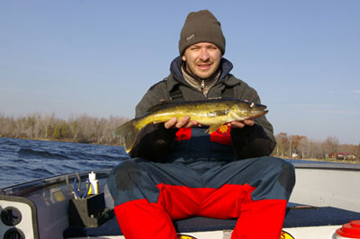 Fishing Walleye Require Boat Control.  Article written by Justin Hoffman