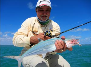 Fishing Bucktail Jigging the Channels of Florida.  Article written by Jan S. Maizler