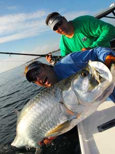 Fishing Tarpon Basics - basic information on landing this big-game fish.  Article by Capt. Joe Richard