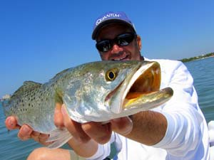Fishing Topwater Tactics for Spotted Seatrout.  Article written by Jan S. Maizler