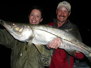 Fishing Bridge Fishing for Snook.  Article written by Jan S. Maizler
